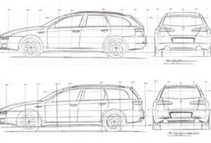 Alfa Romeo 159 Sw Nel Concetto Della Sportivita