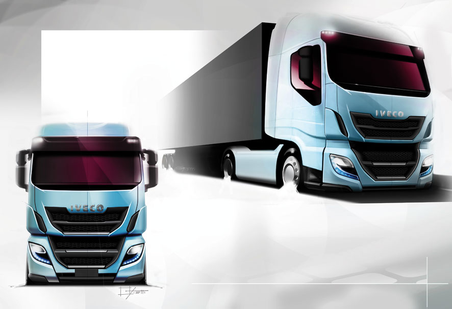 Truck Step Up >> IVECO STRALIS, THE BEAUTY OF FUNCTIONALITY - Auto&Design