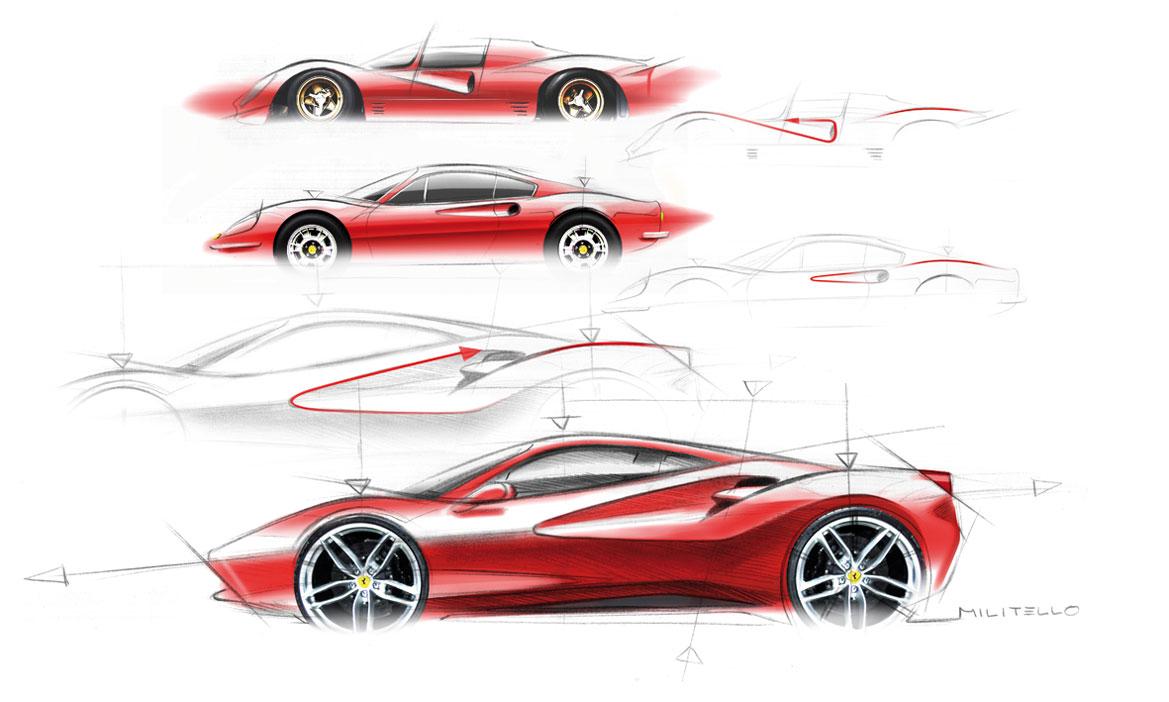 Ferrari 488 Gtb Eredita Scultorea Auto Amp Design