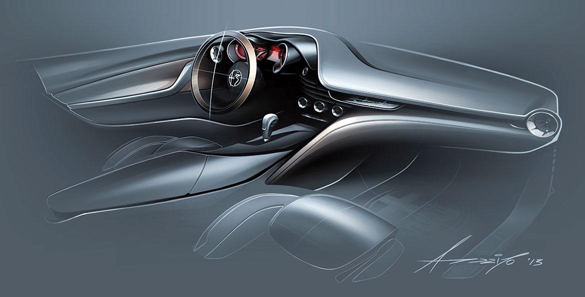alfa romeo giulia a renaissance of pride auto design. Black Bedroom Furniture Sets. Home Design Ideas