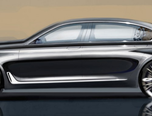 LE CANDIDATE AL COTY, BMW SERIE 7