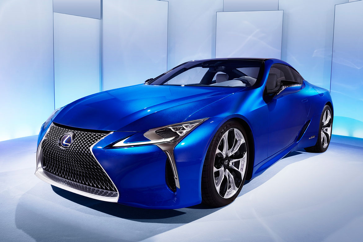 LEXUS LC500H AND LF-FC, FROM JAPAN TO GENEVA 2016 - Auto ...