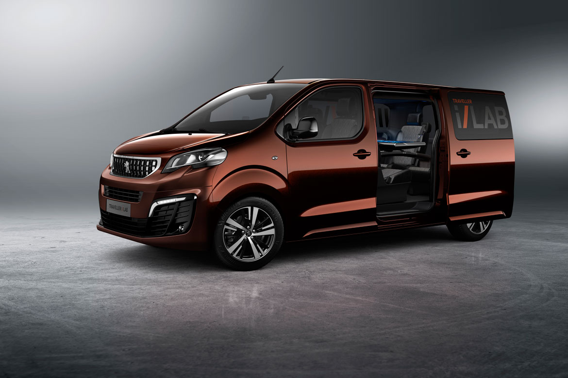 peugeot traveller i lab the ultra connected journey