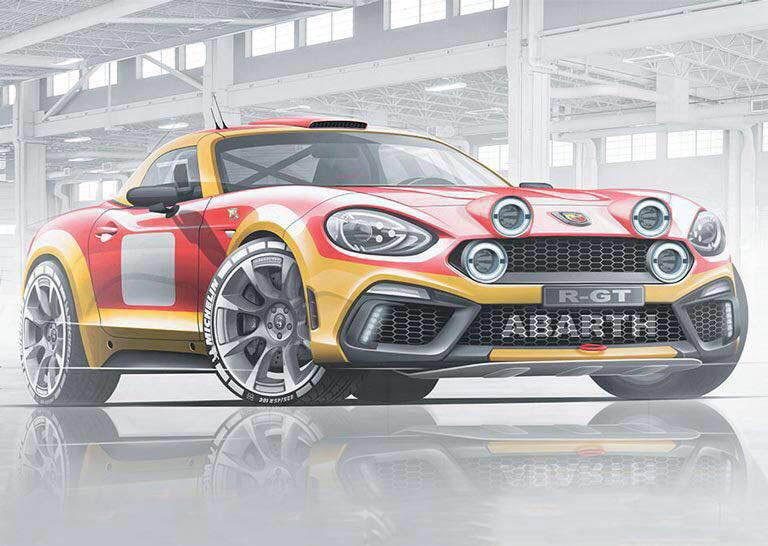 Abarth Spider on 2017 Fiat Spider Primo
