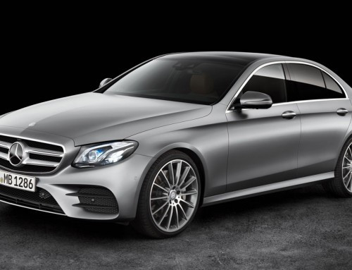 COTY 2017 FINALISTS MERCEDES-BENZ E-CLASS, EMOTION AND INTELLIGENCE