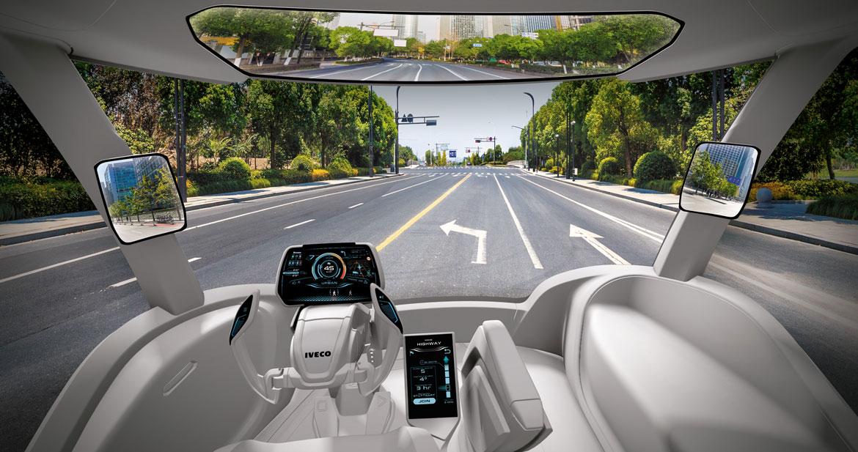 Iveco presenta il concept z truck all iaa di hannover for Interior design hannover
