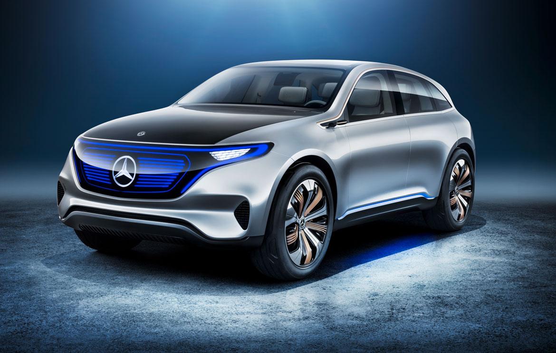 Mercedes benz generation eq la nuova famiglia elettrica for La mercedes benz