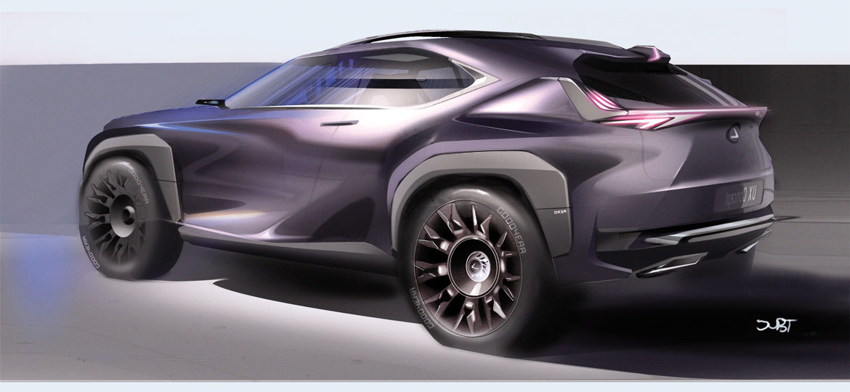 Lexus UX Rendered by Japanese Magazine - Lexus UX Forum