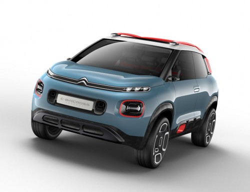 CITROËN C-AIRCROSS CONCEPT, SET FOR THE ADVENTURE
