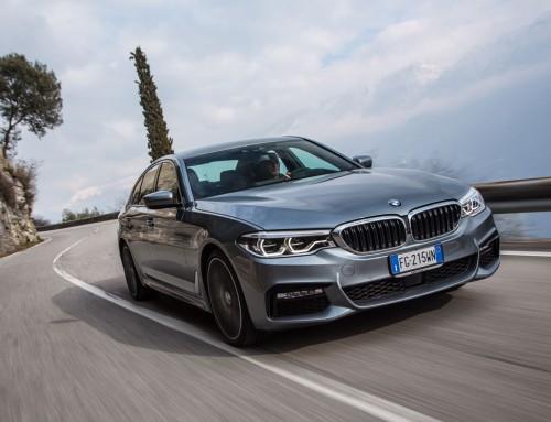 NUOVA BMW SERIE 5, PIU' LEGGERA E AERODINAMICA