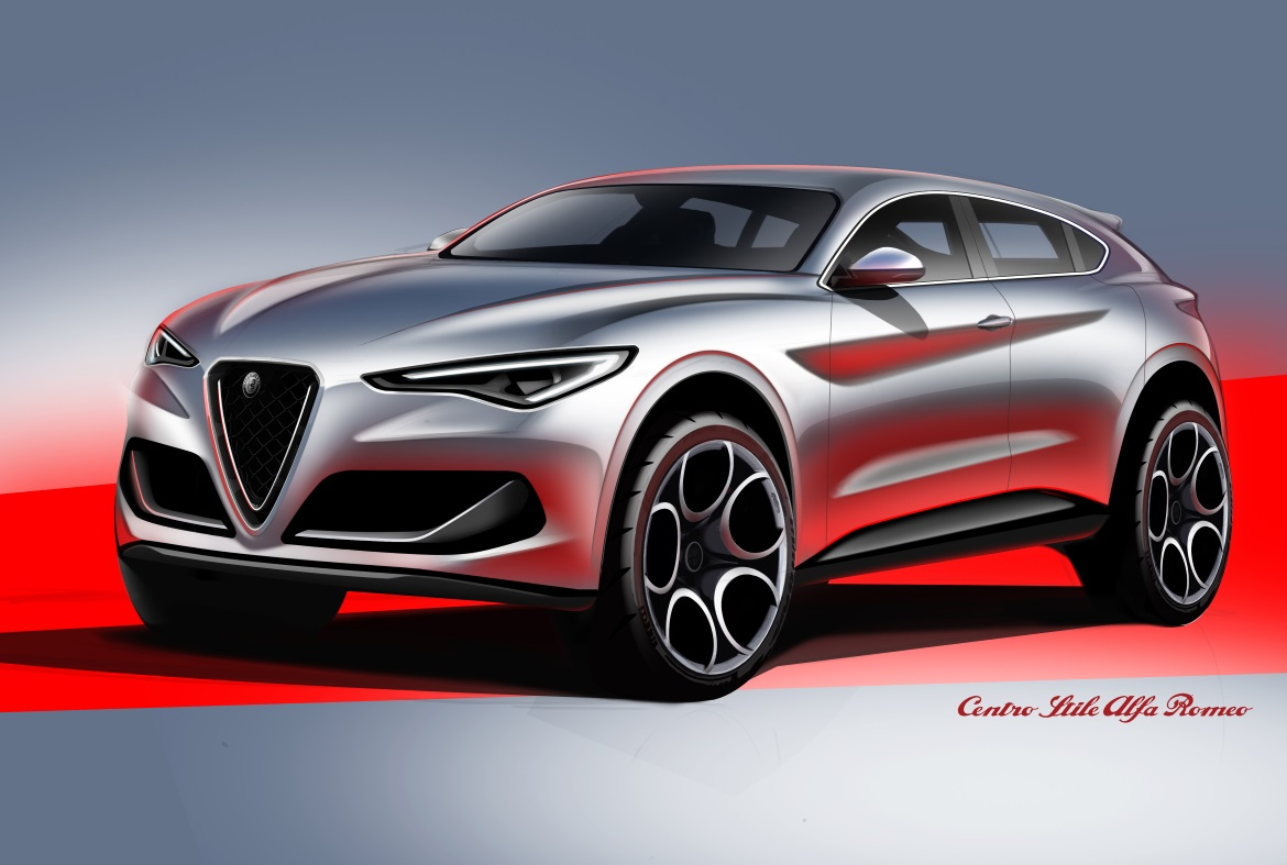 alfa romeo stelvio the first alfa 39 s suv auto design. Black Bedroom Furniture Sets. Home Design Ideas
