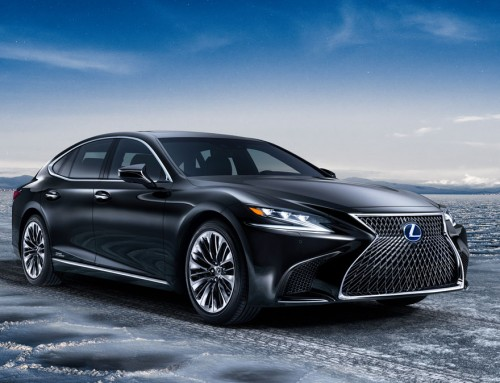 LEXUS LS 500h, THE NEW FLAGSHIP SEDAN