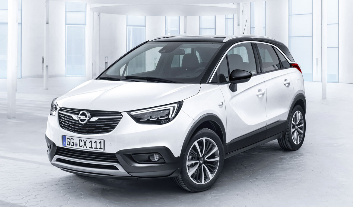 opel crossland x attitudine urbana auto design. Black Bedroom Furniture Sets. Home Design Ideas