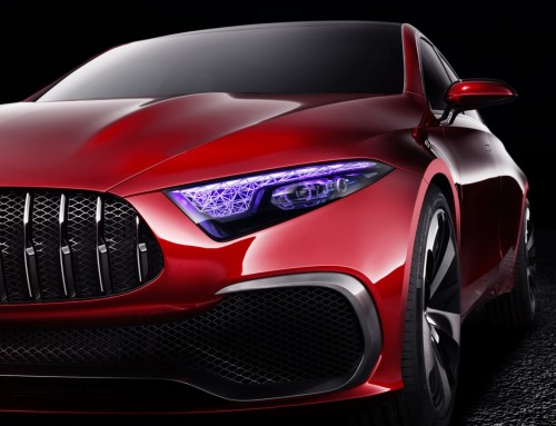 MERCEDES-BENZ CONCEPT A SEDAN, NEW DESIGN LANGUAGE