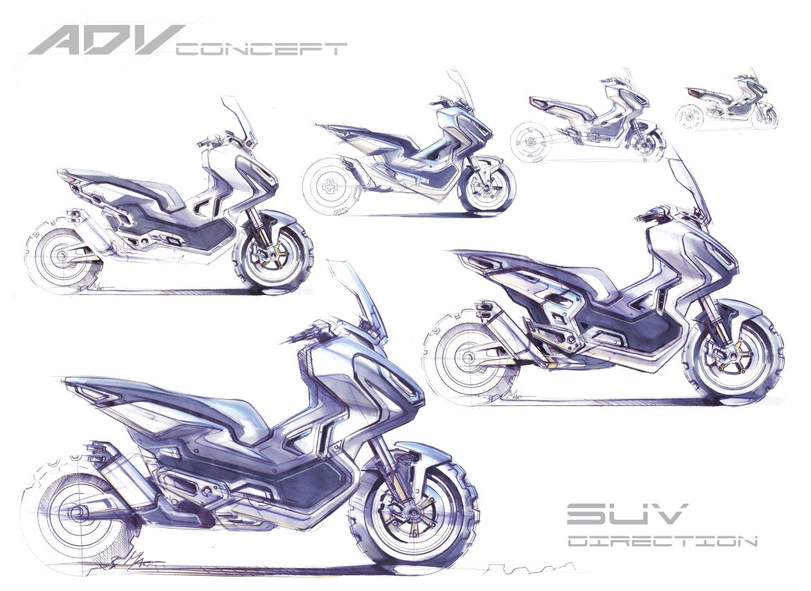 HONDA X ADV TWO WHEELED SUV