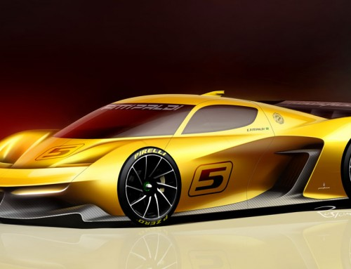 PININFARINA FITTIPALDI EF7 VGT, THE DESIRE OF A CHAMPION