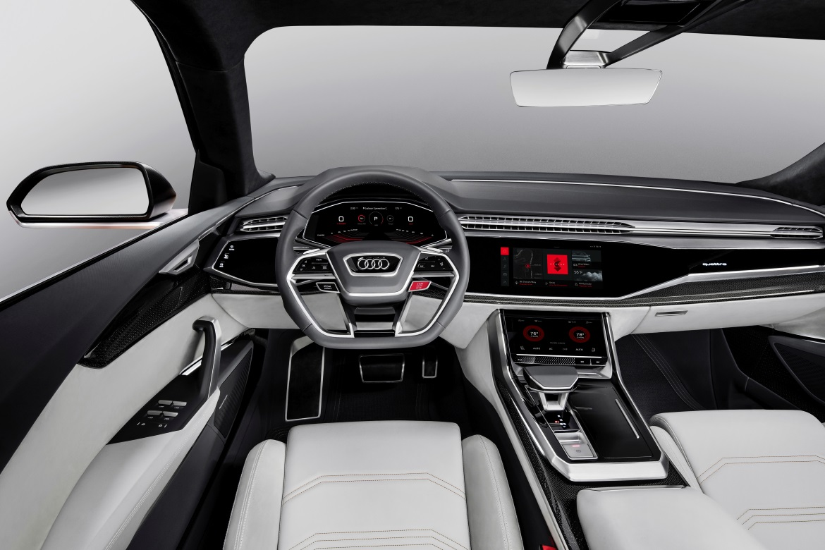 Audi Q8 Sport Concept Integrated With Android Operating
