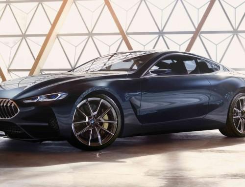 BMW SERIE 8 CONCEPT, ELEGANZA E SPORTIVITA'