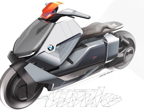 BMW MOTORRAD CONCEPT LINK, URBAN MOBILITY FUTURE
