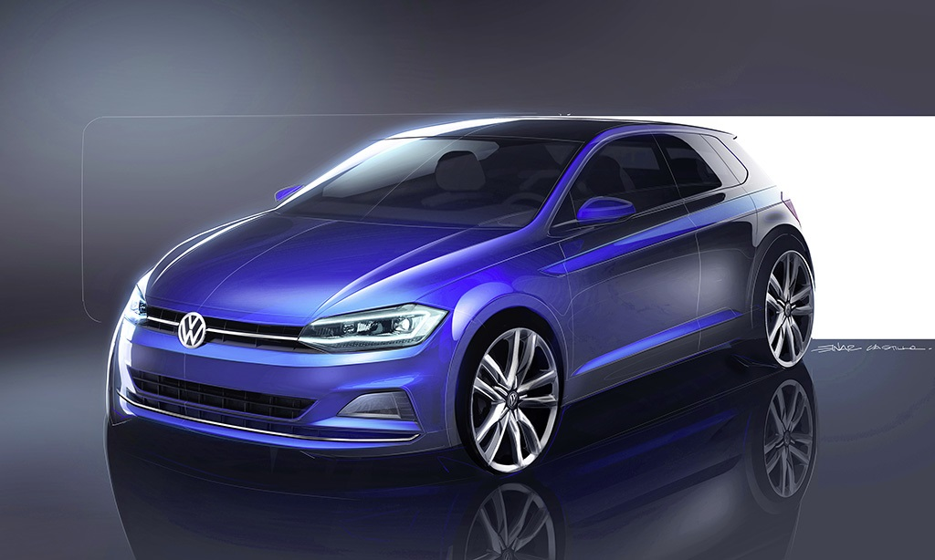 new volkswagen polo 2017 compact and spacious auto design. Black Bedroom Furniture Sets. Home Design Ideas