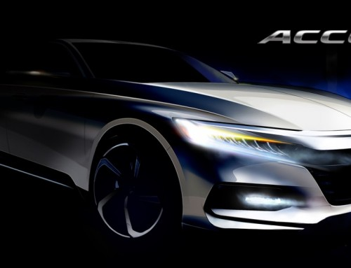 HONDA ACCORD 2018, ECCO IL PRIMO SKETCH