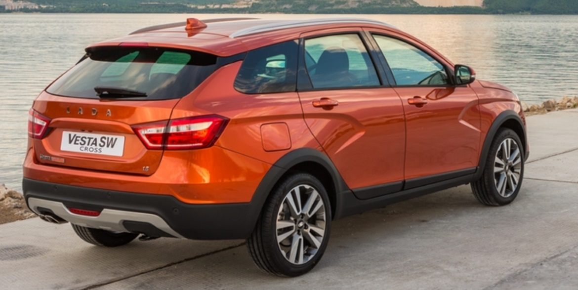 Lada Vesta Sw Cross Expressive Design And Crossover