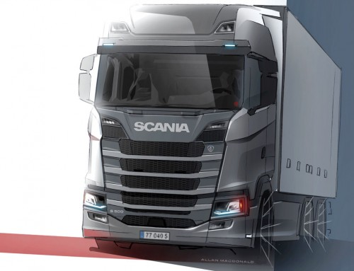 SCANIA S-SERIES, IMAGE OF STRENGTH