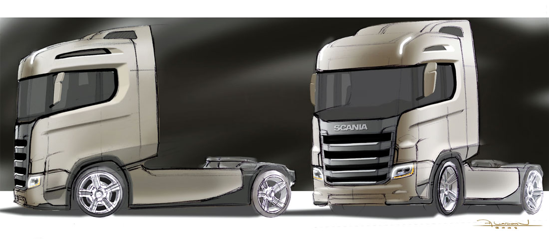 scania s series image of strength auto design. Black Bedroom Furniture Sets. Home Design Ideas