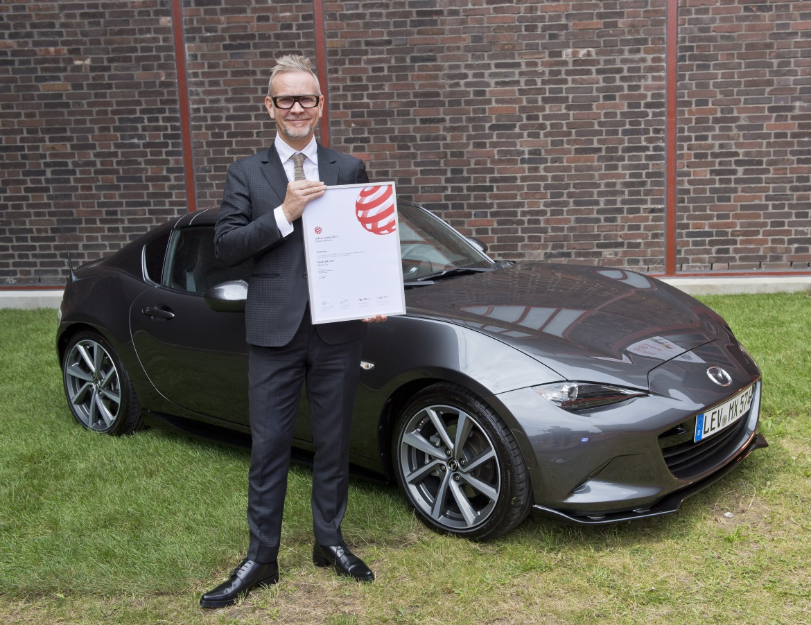 Mazda Mx 5 Rf >> MAZDA MX-5 RF VINCE IL RED DOT BEST OF THE BEST - Auto&Design