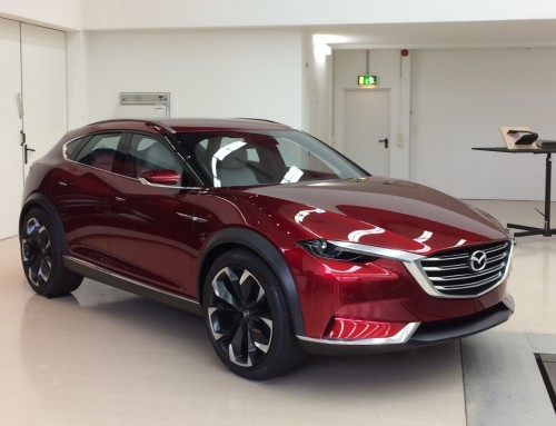 MAZDA, WHEN SCULPTURE MEETS MINIMALISM