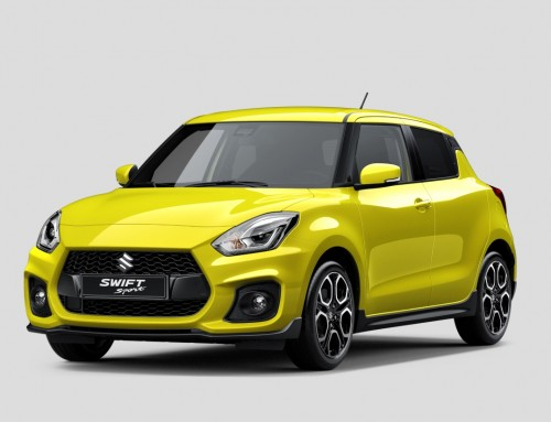 SUZUKI SWIFT SPORT, PREMIERE AT FRANKFURT 2017