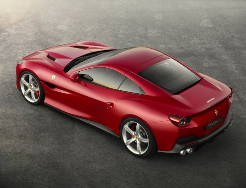 FERRARI PORTOFINO, COMFORTABLE, ELEGANT AND SPORTY