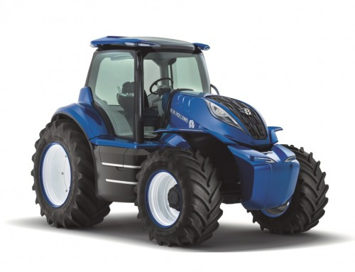 NEW HOLLAND AGRICULTURE PRESENTS A METHANE POWERED CONCEPT TRACTOR