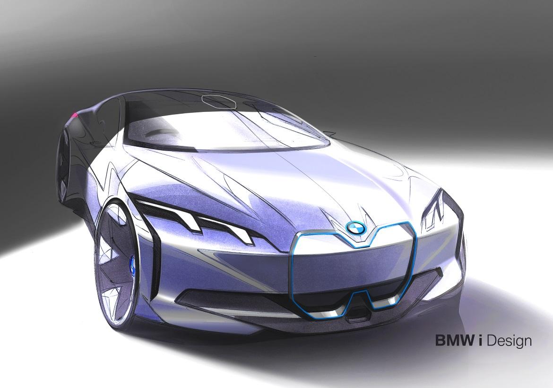 Bmw I Vision Dynamics Evoluzione Delle Proporzioni