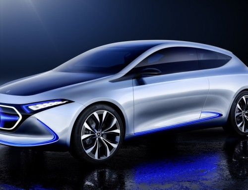 MERCEDES-BENZ CONCEPT EQ A, ELECTRIC AND COMPACT