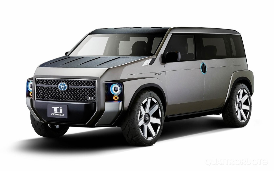toyota tj cruiser concept a suv van to work and play auto design. Black Bedroom Furniture Sets. Home Design Ideas