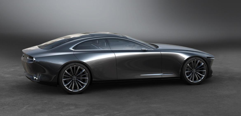 mazda vision coupe one motion form auto design. Black Bedroom Furniture Sets. Home Design Ideas