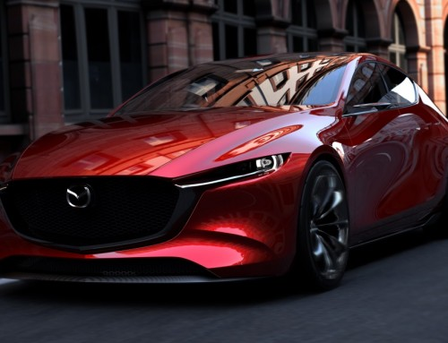 KAI CONCEPT, WAITING FOR THE MAZDA 3