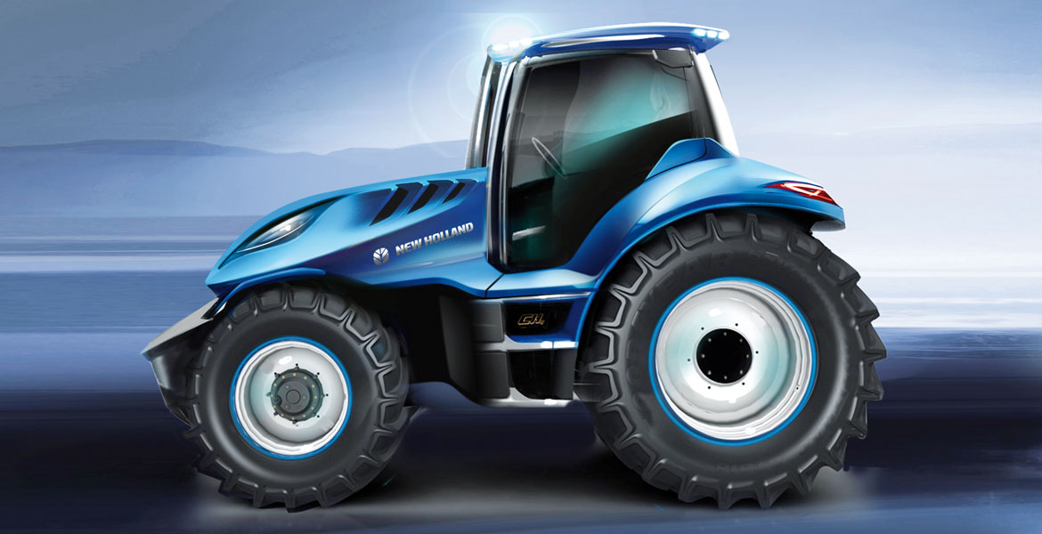 New Holland Methane Concept Fueling Innovation Auto Amp Design