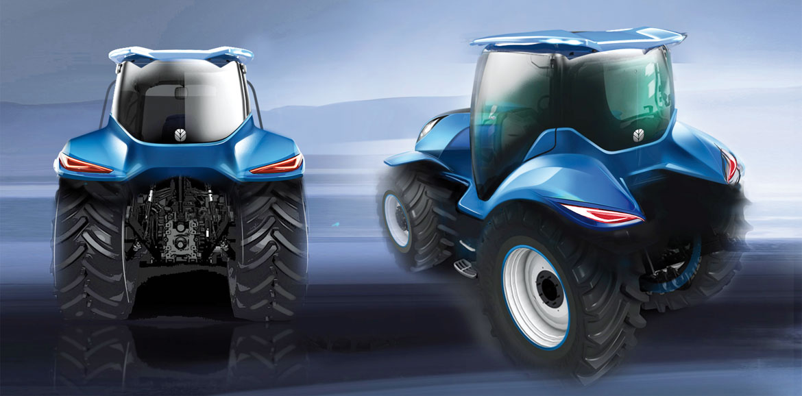 New Holland Methane Concept