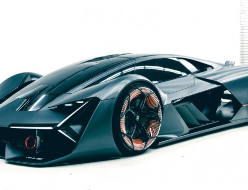 LAMBORGHINI TERZO MILLENNIO, SUPERCAR OF THE FUTURE