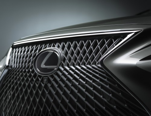 LEXUS LS, THE HANDCRAFTED GRILLE'S DESIGN