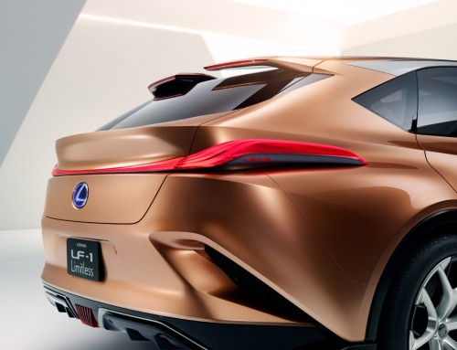 LEXUS LF-1 LIMITLESS, DESIGN, TECHNOLOGY AND INNOVATION
