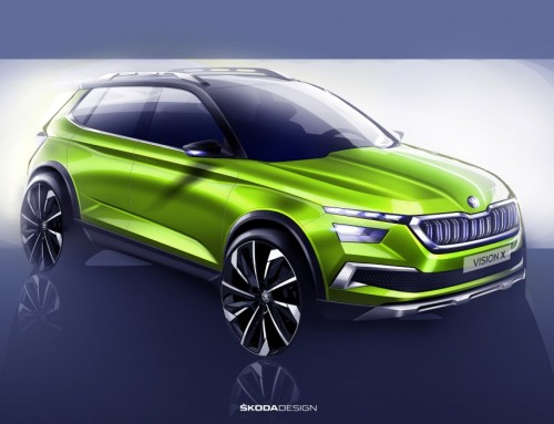 ŠKODA VISION X, AN URBAN CROSSOVER AT GENEVA 2018