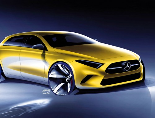 MERCEDES-BENZ A CLASS, CLEAR FORMS AND SENSUAL SURFACES