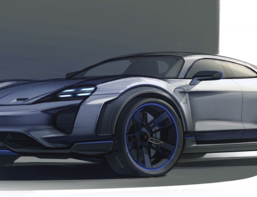 PORSCHE MISSION E CROSS TURISMO, A SPARK FOR THE FUTURE