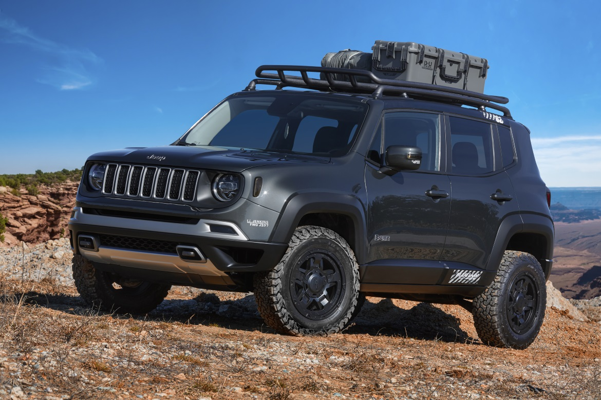 Jeep And Mopar Seven Concept For The 2018 Easter Jeep
