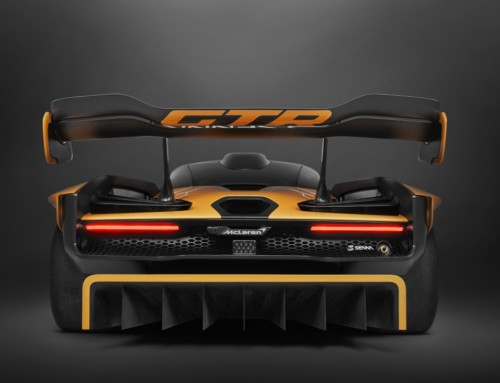 MCLAREN SENNA GTR CONCEPT, DESIGNED FOR THE TRACK