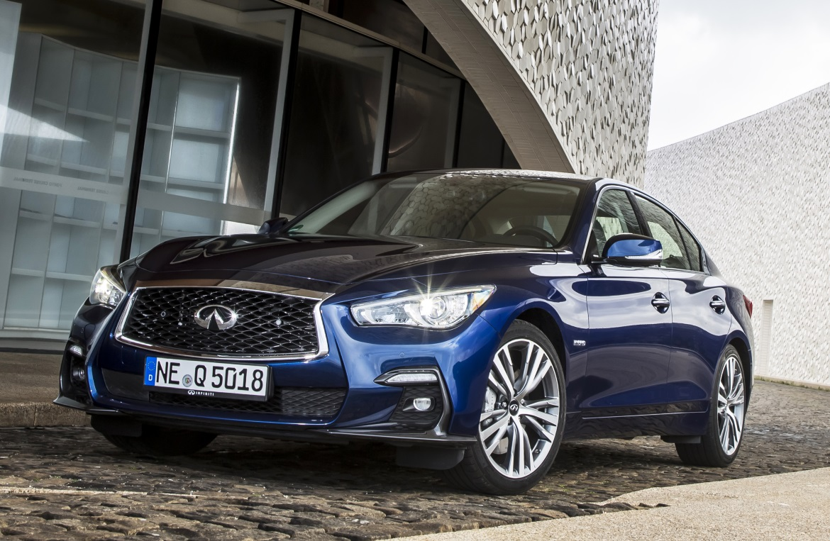 Infiniti Q50 Hybrid Style And Driving Pleasure