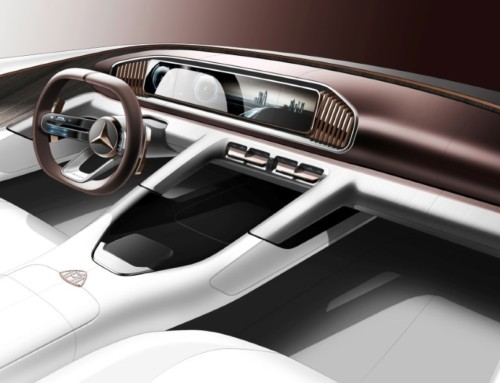 VISION MERCEDES-MAYBACH ULTIMATE LUXURY, ISPIRAZIONE D'ORIENTE